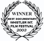 Best Documentary at the 2003